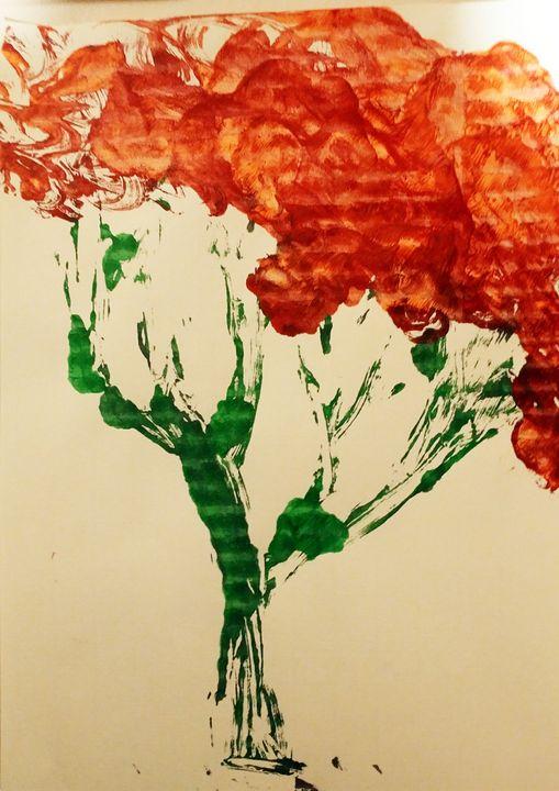 Sunset flower bouquet - Nicholson Art Gallery