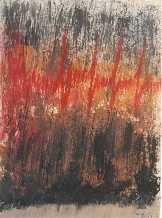 Afib on canvas - Nicholson Art Gallery