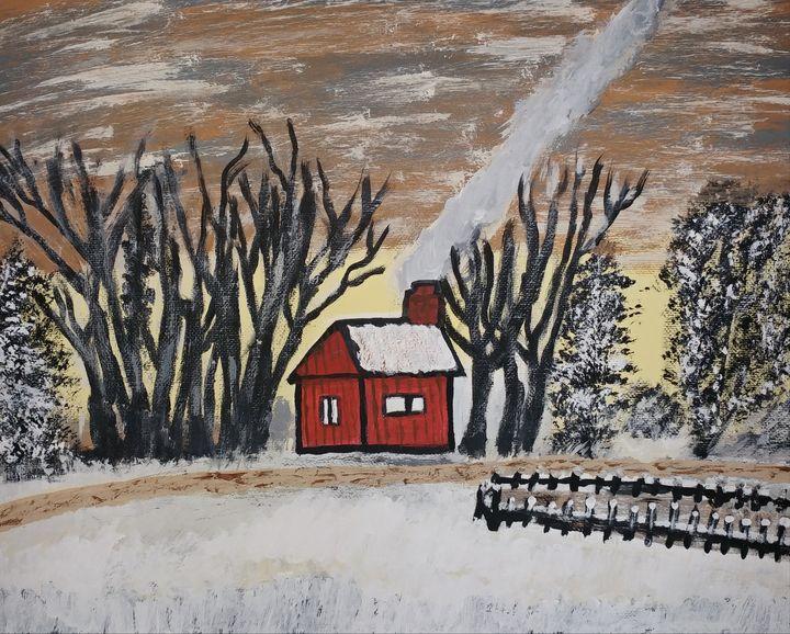 Little Shanty Cabin - Nicholson Art Gallery