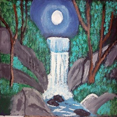 Waterfall - Nicholson Art Gallery