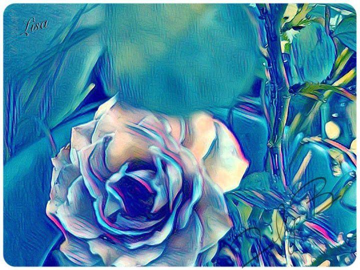 Rose in Blue - FilipB