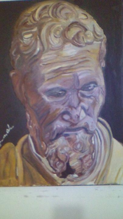 sculptor image michelangelo - Agbu art gallery