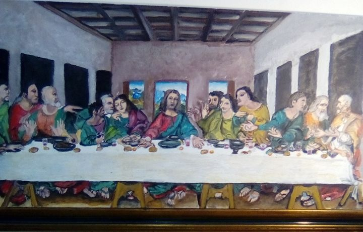 the last supper of jesus - Agbu art gallery