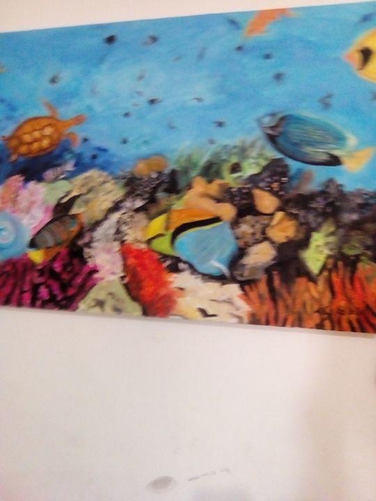 sea depth and nature - Agbu art gallery