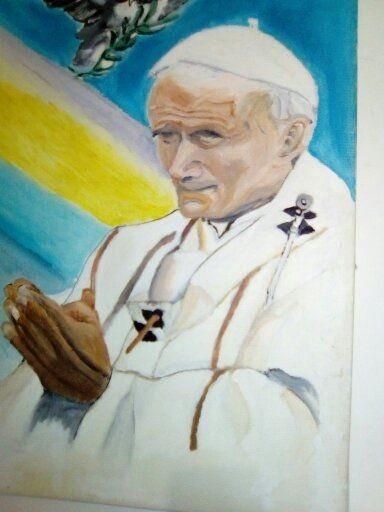 pope john paul di second - Agbu art gallery