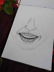 Smile of a girl