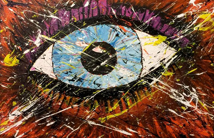 The Eye of Chaos - James Wayes Gallery