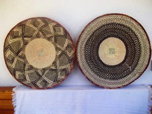 Wall art decor binga baskets - The Tribe