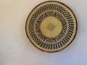 Binga wall art decor basket