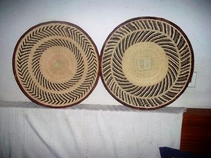 Wall art decor, Binga Baskets