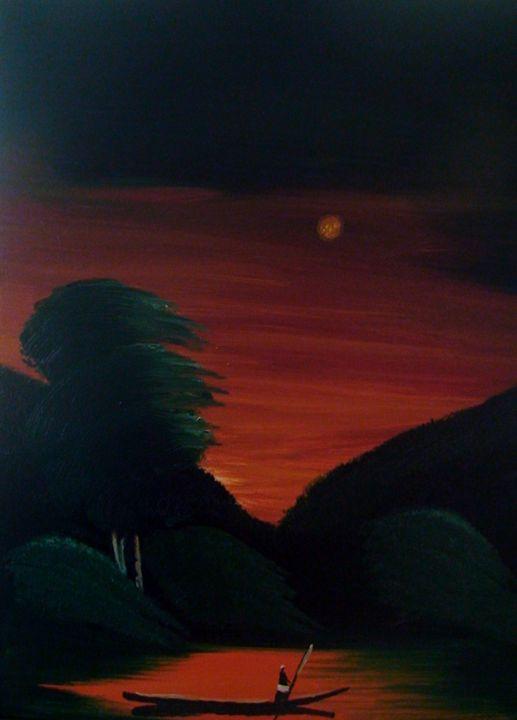 Sunset on the Horizon - Rune of Creation