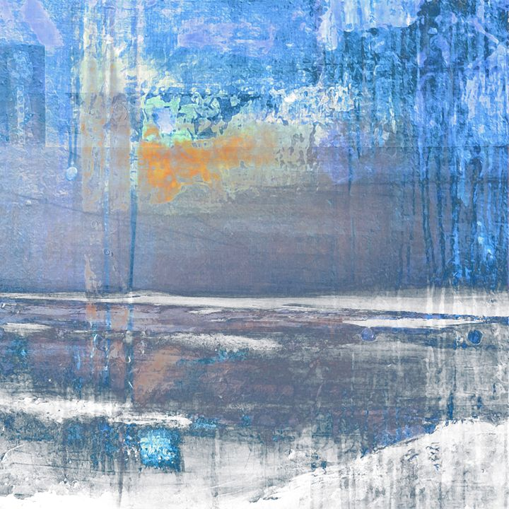 Blue Color Patches - ARTDIGITAL