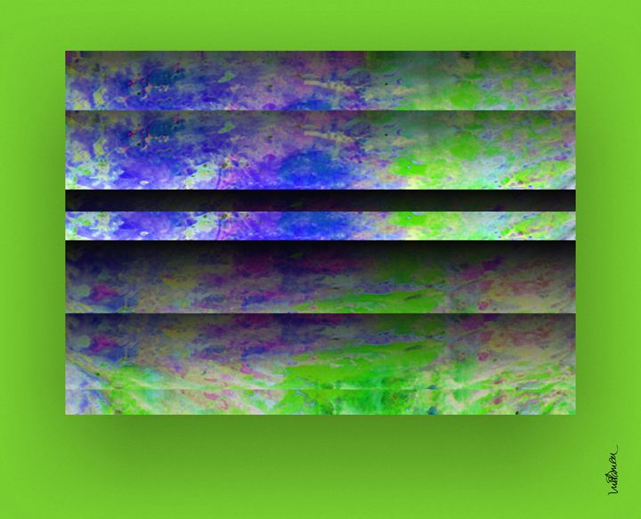 Green Blinds - ARTDIGITAL
