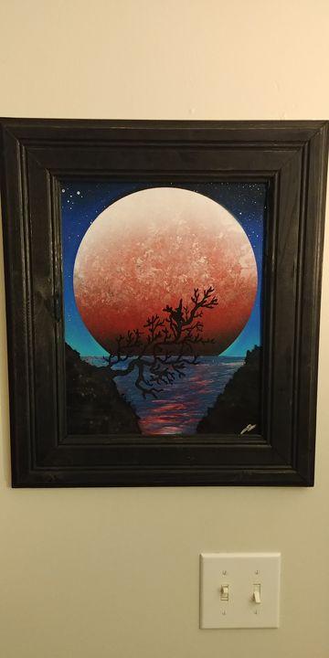 Red Moon - JDO Custom Paints