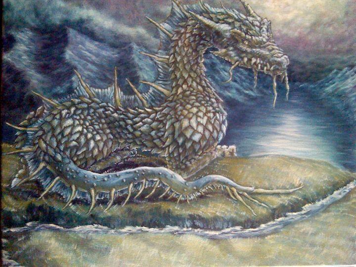 Seaborn Dragon - armstrongsartwork