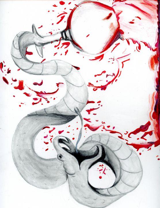 Snake in to Wine - Amanda Lee