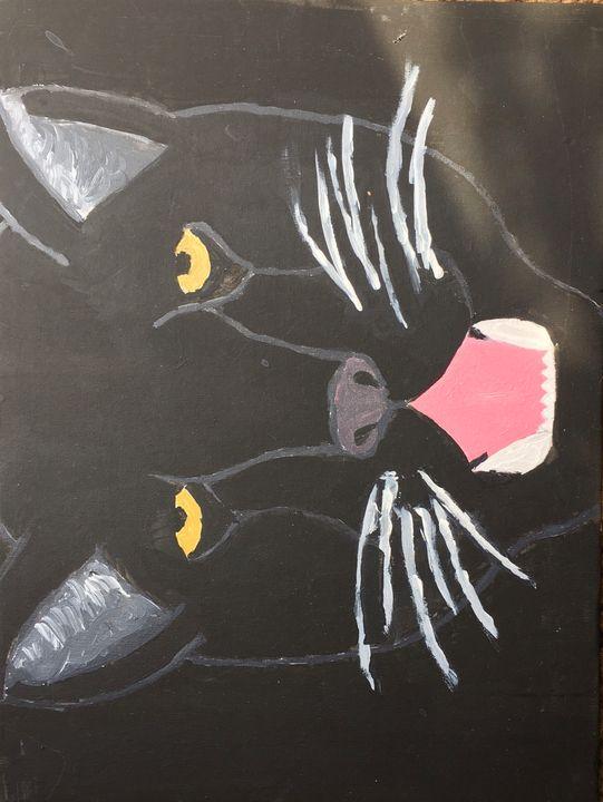Black panther - Lyssa's Art