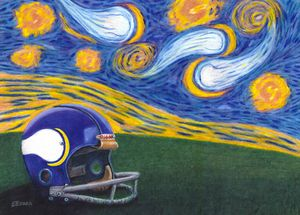 Starry Vikings Night
