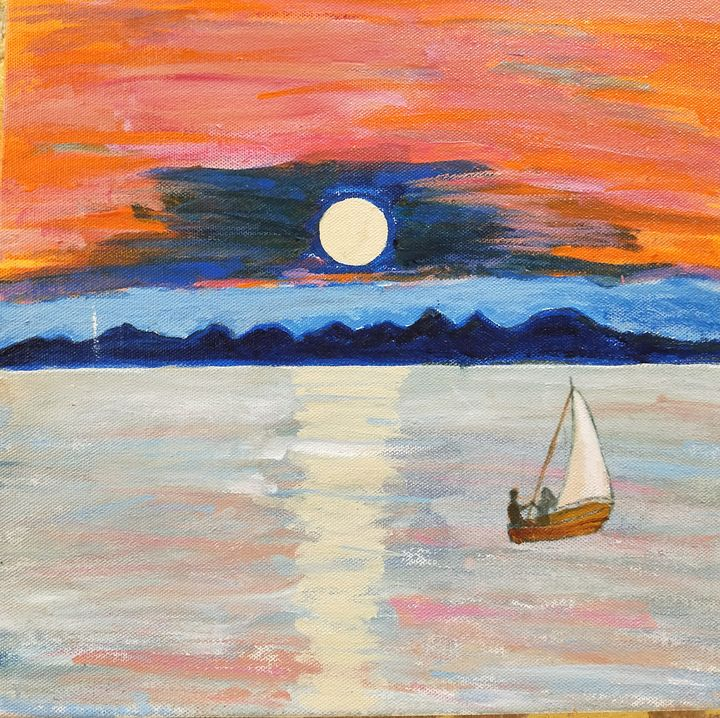 Sunset - Canvas Dream