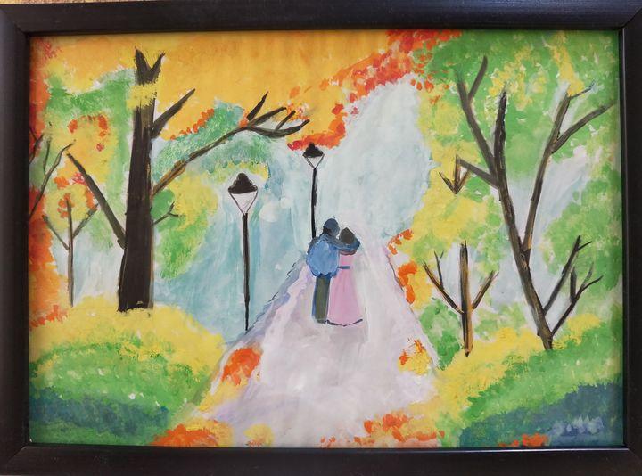 Loving couple - Canvas Dream