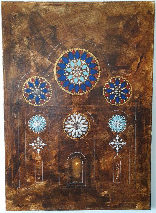 Cathedral in amber - Konstantin Paunov