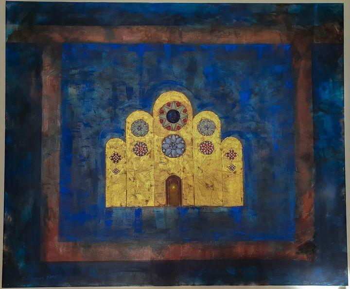 """The Church Window"" - Konstantin Paunov"
