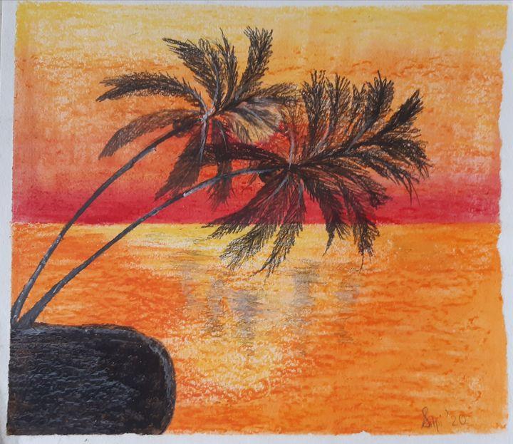 Beauty of Sunset - SilpaLay