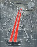 Original Laser Beam Skeleton