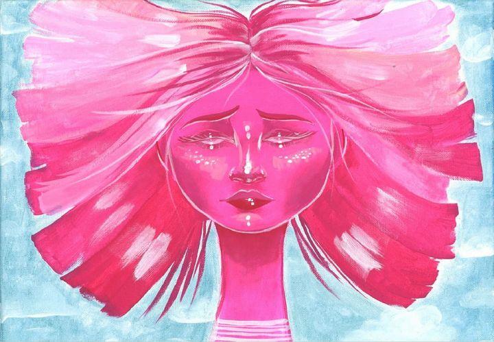 Falling Girl - Acrylic Artisan