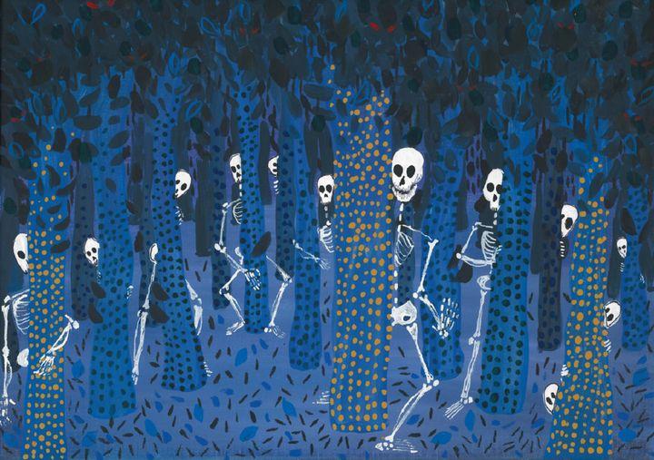 Skeleton Forest - Acrylic Artisan