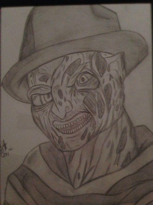 Freddy Krueger - Pandas Art