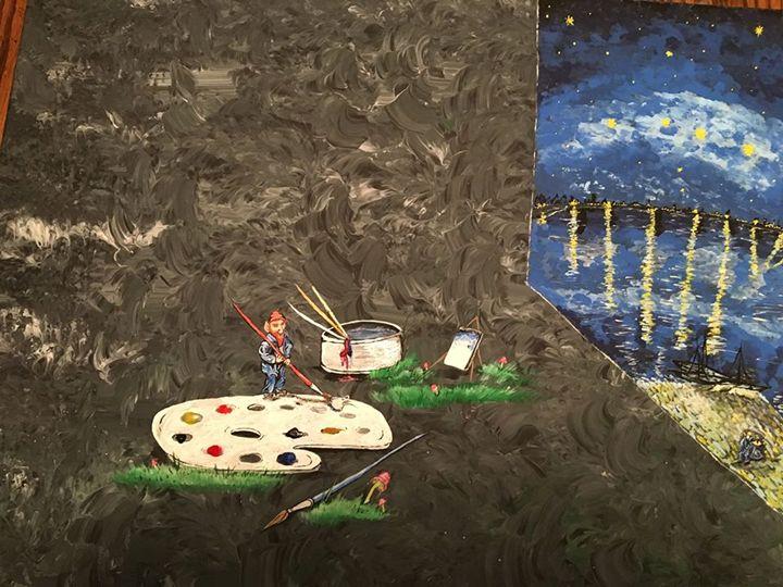Gnome van Gogh - Gnomeageddon