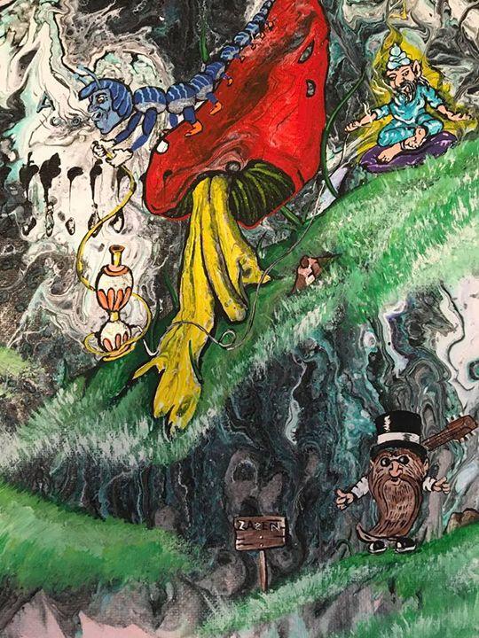 Gnomes in Wonderland - Gnomeageddon
