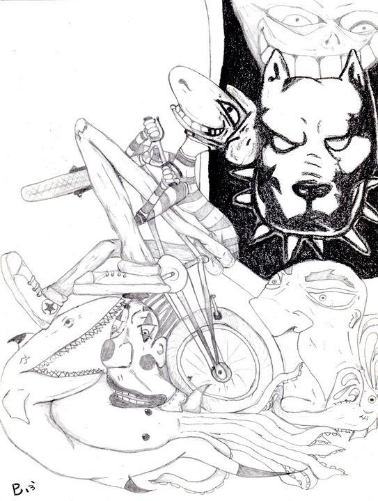 Bike - ByronCorralesart