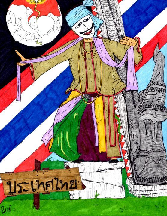 Thailand - ByronCorralesart