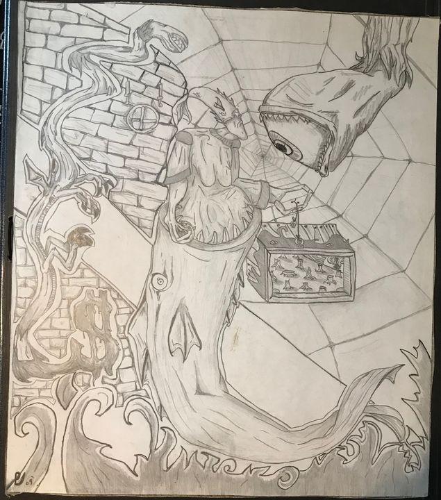 Dragon - ByronCorralesart