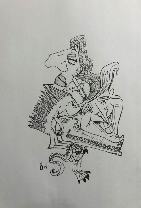 Gator - ByronCorralesart