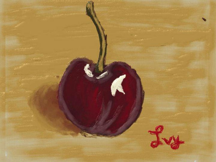 Cherry fruit painting - UADEPSStore