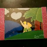 Tropical date night framed painting