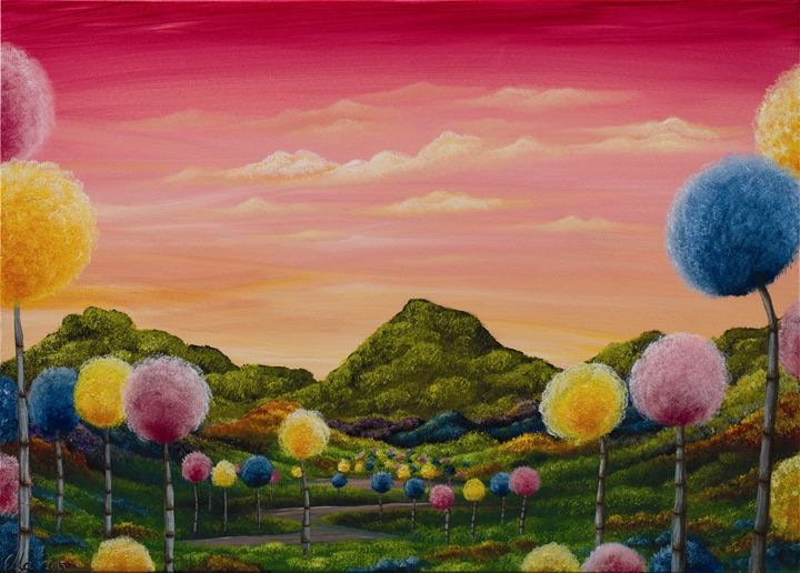 Candy land - Ella Okev Visual art