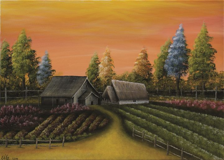 Farm life - Ella Okev Visual art