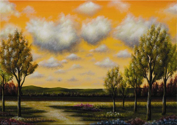 Cotton sky - Ella Okev Visual art