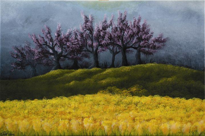 Beautiful storm - Ella Okev Visual art