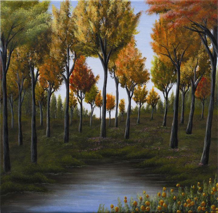 Autumn season - Ella Okev Visual art