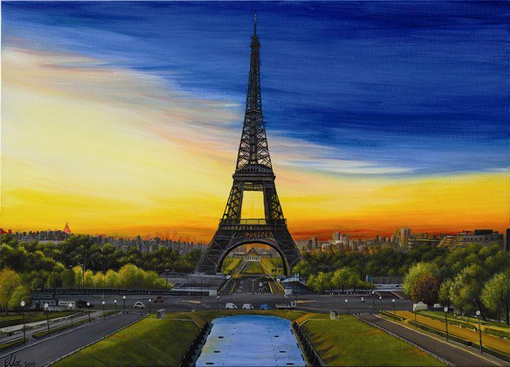 Eiffel tower - Ella Okev Visual art