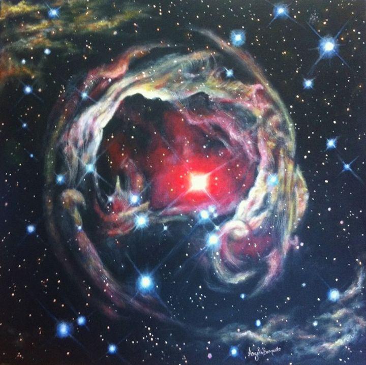 Star V838 Monocerotis - Angela Bomarito