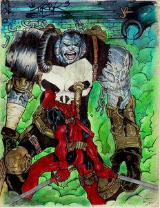 Deadpool VS ...FrankenPunisher?