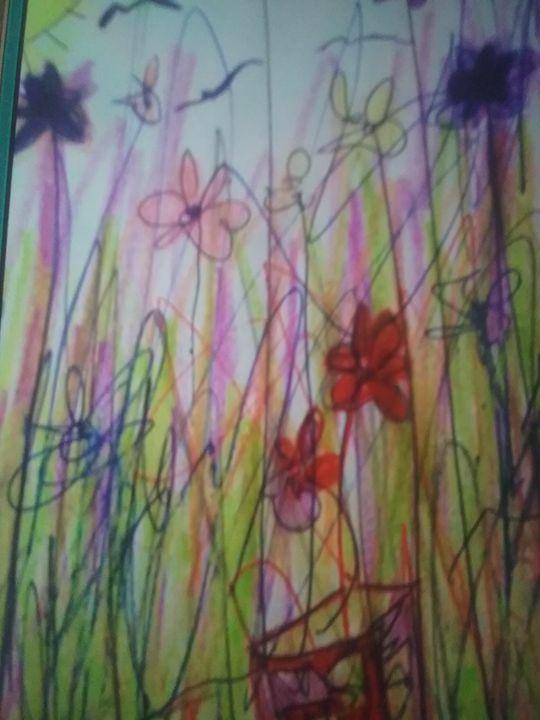 My  beautiful  flowers - Belinda jordan1
