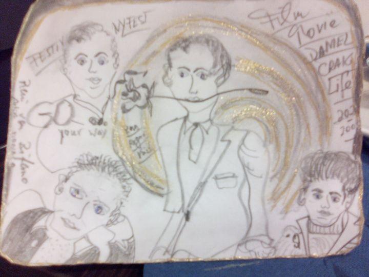 Daniel Craigs Life 2020 - Renis Artstylegallery