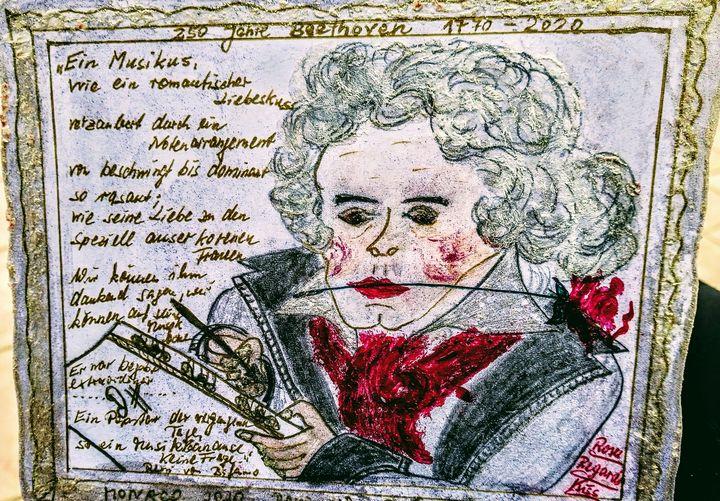 Exif_JPEG_420-  250 years Beethoven - Renis Artstylegallery